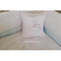 Acolchado+chichonera+almohadón. Diseño Exclusivo.