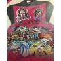 Cover Quilt Frazada Monster High Plaza 1 Y 1/2 Cubrecama