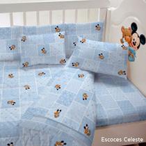 Acolchado Cuna Píñata Minnie, Mickey, Winnie Pooh