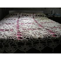 Hermoso Cubrecama Tejido A Mano Al Crochet!
