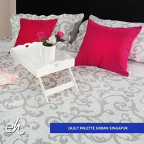 Cover Cubrecama Palette Reversible King 280x250 + 2 Fundas