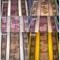 Aguayos Gruesos De 2,56x1,36cm Variedad De Colores