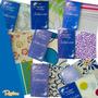 Pack De 2 Juegos Sábanas Danubio Seducción Algodón 2½ Plazas
