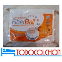 Protector Cubre Colchon Fiberball 140 X 190 Ajustable