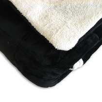 Edredon Super Soft De Flannel Con Corderito 2 1/2 Plazas Ngo