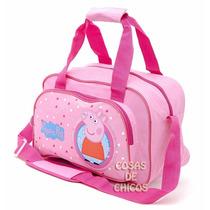Bolso Infantil Peppa Pig Cerdita Original Licencia Oficial