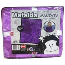 Frazada Manta Infantil Mafalda Disney Original Piñata