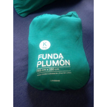 Funda De Edredon King De Algodon !reversible Incluye 2 Fund