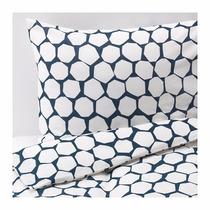 Ikea - Acolchado +almohadas Sueco Flöng Queen 100% Algodón