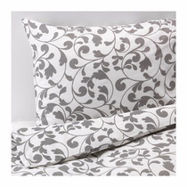 Ikea - Acolchado C/ Fundas P/almohadas Sueca Rostvin Twin
