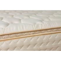 Pillow Top Desmontable Arcoiris 140x190 Matelaseado 4cm Alto