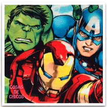 Toalla De Mano Avengers Vengadores Marvel Original Piñata