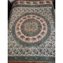 Cubrecamas O Manta Hindu 2p Y 1/2 Algodon100% Hecho En India