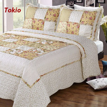 Cubrecama Quilt Cover Patchwork King Size 280 X 250 Cm