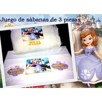 Sabanas La Princesa Sofia (3 Piezas)