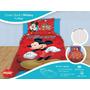 Cover Quilt+sabana Infantil Piñata Mickey Peppa Sofia Frozen