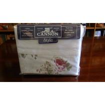 Sábanas Cannon Style Full180 Hilos.100% Alg 190x140x30