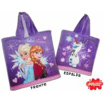 Poncho Toalla Con Capucha Frozen - Original Disney Piñata