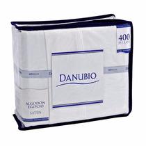 Sábanas Danubio Queen 400 Hilos 100% Algodón Egipcio Premium