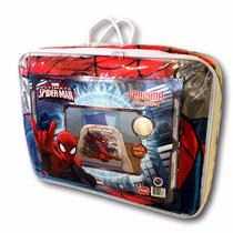 Frazada Con Corderito Disney Piñata 1 1/2 Plazas Spiderman
