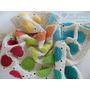 Manta De Bebé Tejida Al Crochet Lindo Cachivache - En Stock