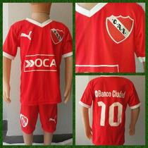 Conjunto Fútbol Independiente Rojo Niños