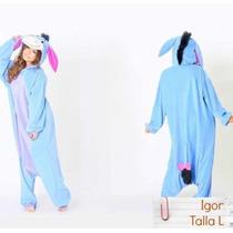 Pijama Kigurumi Igor Winnie De Pooh Disfraz Halloween