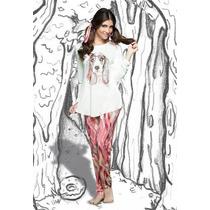Pijama Playboy Pink Coleccion Invierno 2014 Todos Los Talles