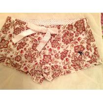 Pijama Short Nena Mujer Abercrombie Importado Usa Nuevo