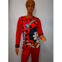 Pijama Betty Boop Ideal Para Ropa De Dormir En Ropa