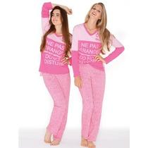 Pijama Marcela Koury 2 Piezas Pantalon Y Remera Manga Larga