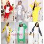 Kigurumi Pijamas Adultos- Niños Animales, Gato, Oso, Pikachu
