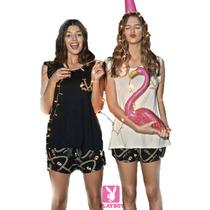 Pijama Verano 2016 So Glam De La Colección Playboy