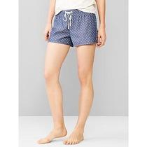 Gap Shorts Mujer Pijama Corto Dormir Importados Usa