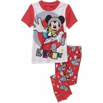 Pijama Mickey Mouse Disney Mangas Cortas Importado