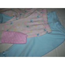 Pack De 2 Pantalones Pijama Niña Talle 12-18 Meses