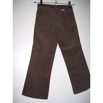 Pantalon Corderoy Niña Talle 8 Años
