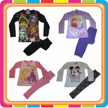 Pijama Disney Princesas Frozen Monster High - Mundo Manias