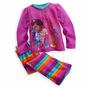 Pijama Original Disney Store Doctora Juguetes Sirenita Ariel