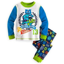 Pijamas Disney Store Originales.monster University Y Planes