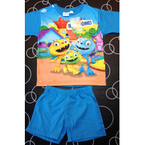 Pijama Henry Rayo Jake Monster Villano Minion Aviones Dusty