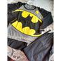 Día Del Niño Pijama Batman Con Capa Talle 6 Nuevo