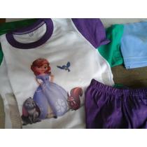 Pijamas Princesas - Verano - T 2-4-6-8