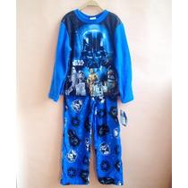 Pijama De Polar Star Wars Importado - Talle 6 Años