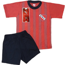 Equipo Pijama Independiente Oficial Club Futbol Niños Remera