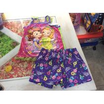 Pijama Princesa Sofia, Importado.