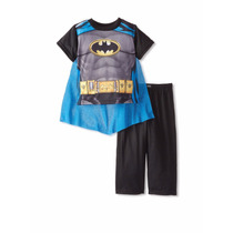Pijama Disfraz Varon Batman Y Hombre Araña Importados