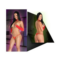 Micro Tanga Lycra Super Hot X 3 Unidades Art 514