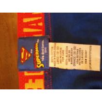 Boxer Superman Original Dc Nuevo