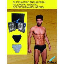 Slip Dufour Elastico Ancho X 2 Original En Su Packaging